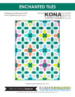 Robert Kaufman Enchanted Tiles - Downloadable PDF