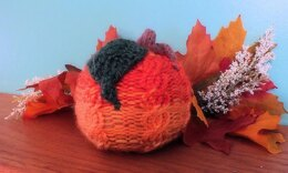 Scented Cabled Pumpkin