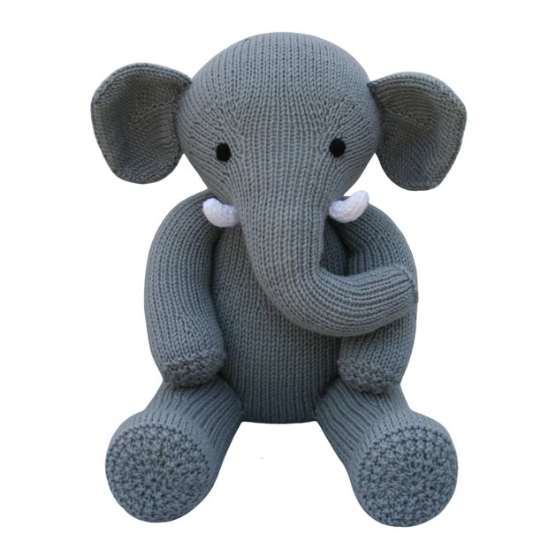 Knitting Pattern For Baby Elephant : Elephant (Knit a Teddy) Knitting pattern by Knitables