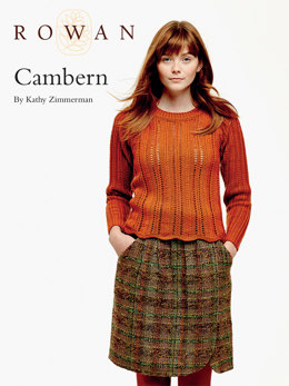 Cambern Sweater in Rowan Pure Wool Worsted
