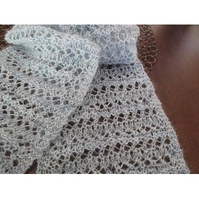 Iridessa Reversible Lace Scarf and Wrap