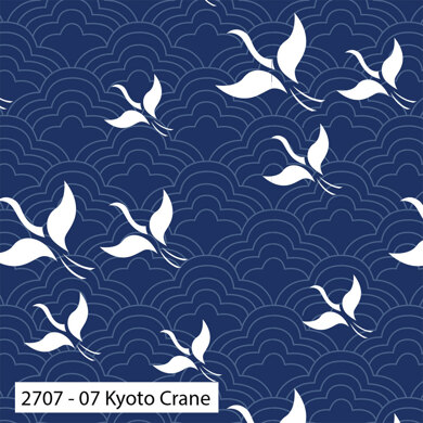Craft Cotton Company Kyoto - Kyoto Crane