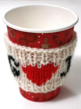 Heart warming cup sleeve