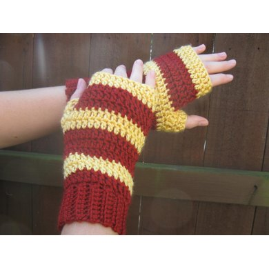 Hogwarts Houses mitts, Harry Potter