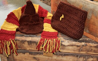 Harry Potter Sorting Hat Set Crochet pattern by ReesiePiecies 609682200cd