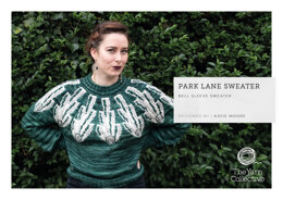 """Park Lane Jumper by Katie Moore"" - Jumper Knitting Pattern For Women in The Yarn Collective"