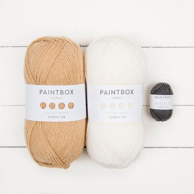 Paintbox Yarns Simply DK 3 Ball Colour Pack - Buster the Dog by The Patchwork Moose