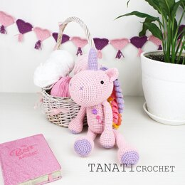 Toy Unicorn pattern