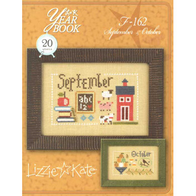 Lizzie Kate September & October - Year Book Flip It Chart with Charm - Leaflet
