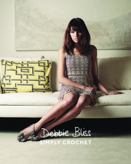"""Simply Crochet Darcey Dress"" - Dress Knitting & Crochet Pattern in Debbie Bliss - DB136 - Leaflet"