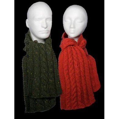 Easy Cable Scarves