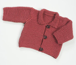 Jacket in Plymouth Yarn Jeannee Chunky - 1383 - Downloadable PDF