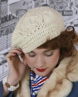 Crowning Glory Hat in Susan Crawford Excelana 4 Ply