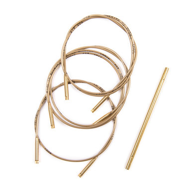 Addi Set of 3 Cords And 1 Connector For Click Bamboo Needles