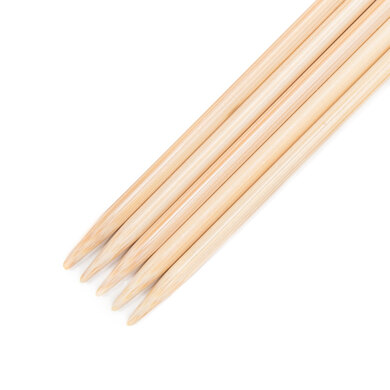 Addi Bamboo Double Point Needles 15cm (6in)
