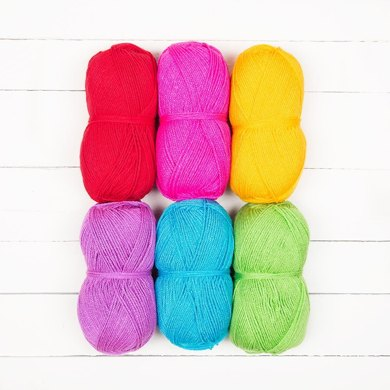 Stylecraft Bella Coco Ombre Pack - Stylecraft Special DK 6 Ball Colour Pack