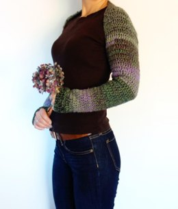 Faded Hydrangea Shrug