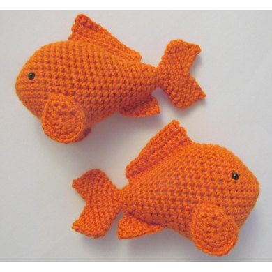 Amigurumi Goldfish : Amigurumi Goldfish Crochet pattern by Heather Sonnenberg