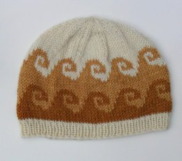 Coffee and Cream Beanie