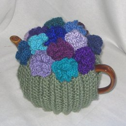 Coral Flower Tea Cosy