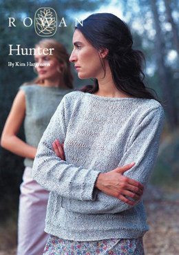 Hunter Jumper in Rowan Summer Tweed