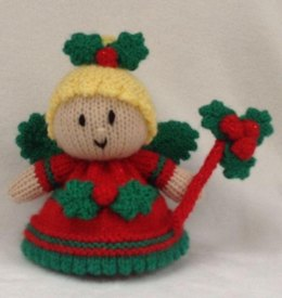 Holly the Christmas Fairy Choc Orange Cover / Toy
