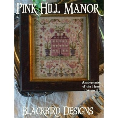 Blackbird Designs Pink Hill Manor - Anniversaries of the Heart #4 - BD192 - Leaflet