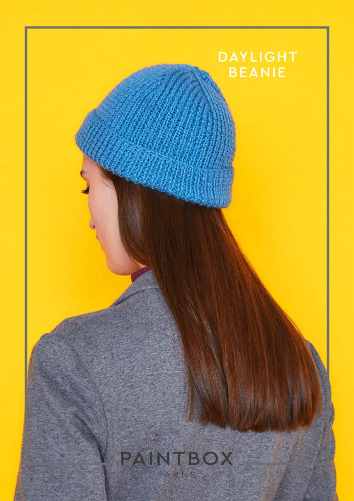 Daylight Beanie In Paintbox Yarns Simply Dk Downloadable Pdf