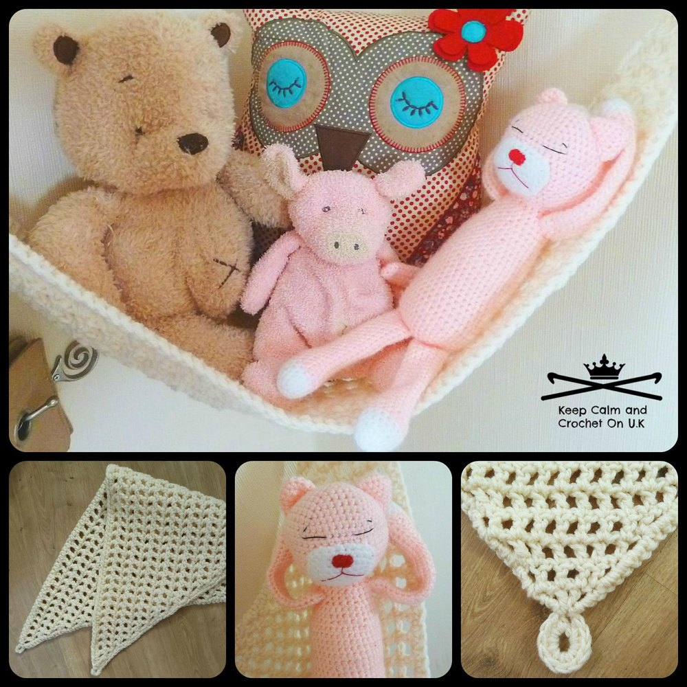 Toy hammock Crochet pattern by Keep Calm and Crochet On UK | Crochet ...