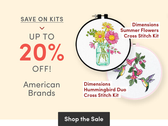 Save on kits! Up to to 20 percent off American brands