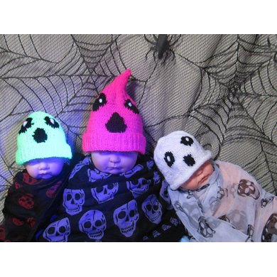 Baby Scream Neon Halloween Beanies -  3 Different Designs