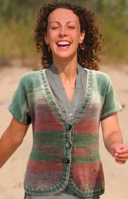 Clay_matis Cardie in Knit One Crochet Too Ty-Dy - 1746
