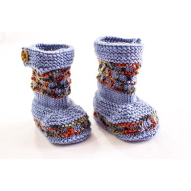 Extra Tall Baby Booties