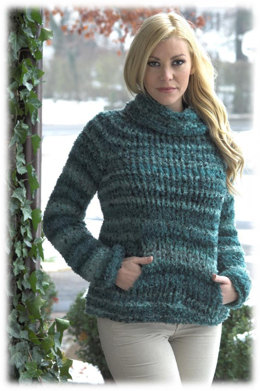 Sweater in Plymouth Yarn Spago - 2710 - Downloadable PDF