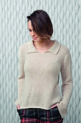 Sweater in Katia Royal Silk
