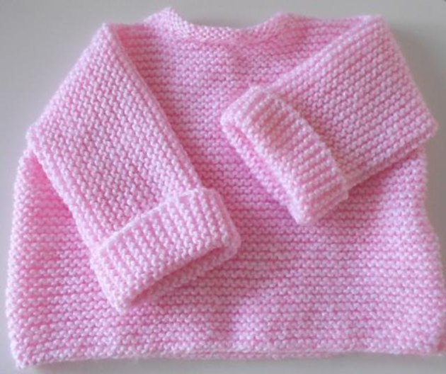 Knitting Patterns For Babies Loveknitting : Easy Knitted Baby Jersey Knitting pattern by Spook Designs Knitting Pattern...