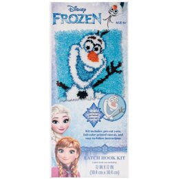 Dimensions Disney Latch Hook Kit - Olaf - Frozen
