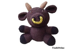 Amigurumi Deryck the Bull