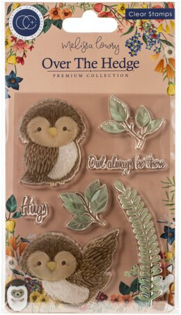 Craft Consortium A5 Clear Stamps - Olivia The Owl