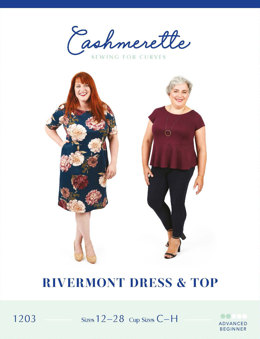 Cashmerette Rivermont Dress & Top 1203 - Sewing Pattern