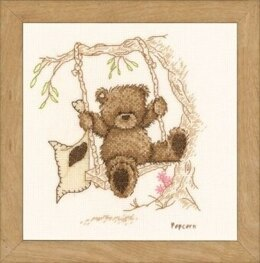 Groves The Rope Swing Cross Stitch Kit - Multi
