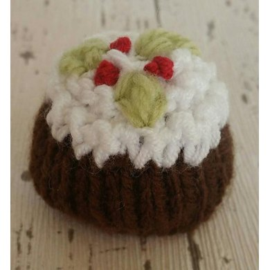 Christmas Pudding Ferrero Rocher Cover Cosy Knitting Pattern By