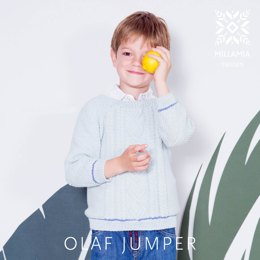 Olaf Jumper in MillaMia Naturally Soft Cotton - Downloadable PDF