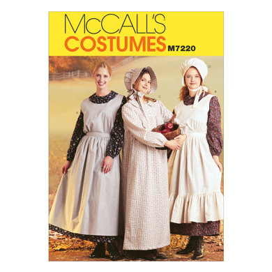 McCall's Misses' Pioneer Costumes M7220 - Sewing Pattern