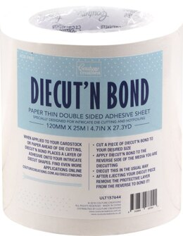 "Artdeco Creations Ultimate Crafts Diecut'N Bond Double-Sided Tape 4.72""X82' - Clear"