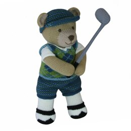 Golfer (Knit a Teddy)