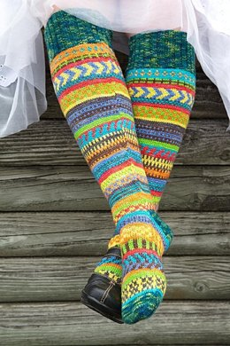 Rock the Party knee socks