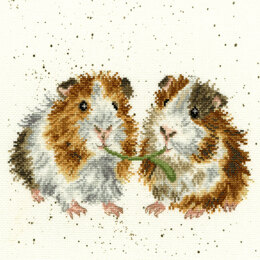 Bothy Threads Lettuce Be Friends Cross Stitch Kit