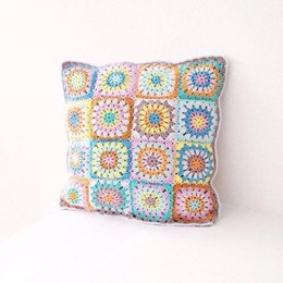 Circle Square Cushion