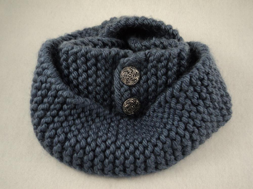 Knitting On The Net Buttonhole : Button scarf knit pattern great for beginners knitting